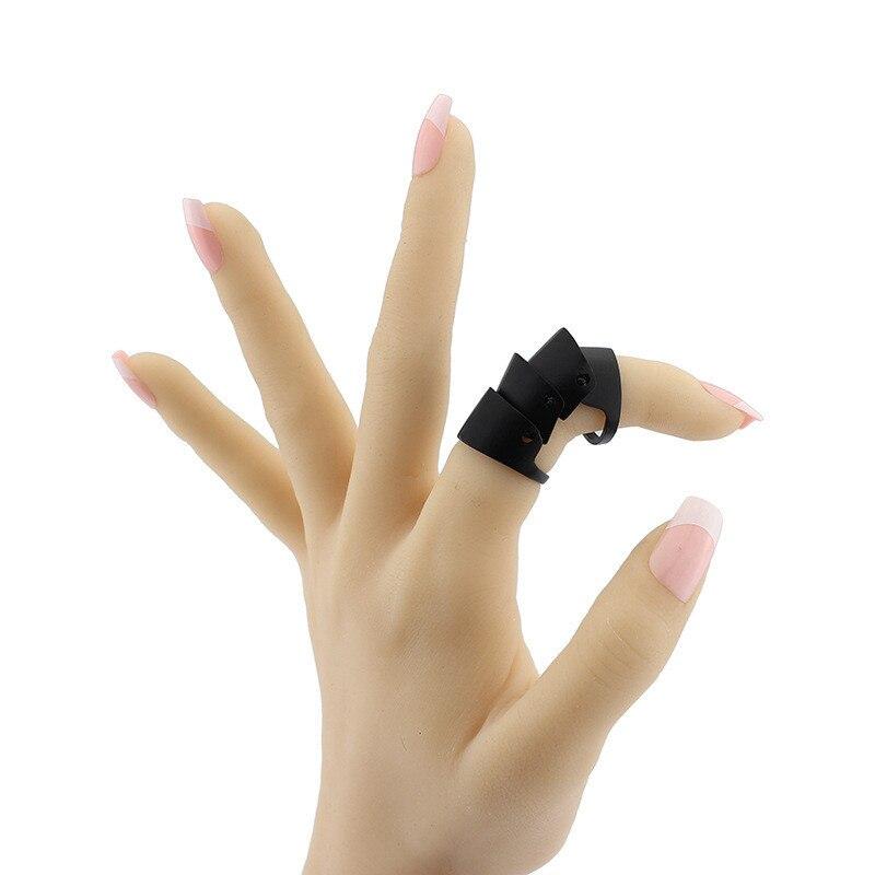 גותי פאנק אופנה סיטונאי בתפזורת טופר סככה Knuckle משותף טבעות ספייק אצבע שריון מלא טבעת תכשיטים לגברים נשים