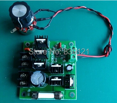 ФОТО High power dc motor driver board, PWM pulse width speed governor (900 w 30 a) new update products