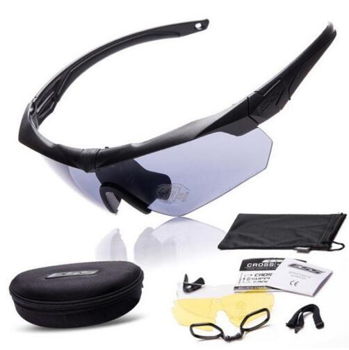 Prix pour 2015 TR-90 lunettes militaire bête 3 lentille pare-balles armée tactial lunettes avec la boîte originale verres à Liqueur vélo sport verre