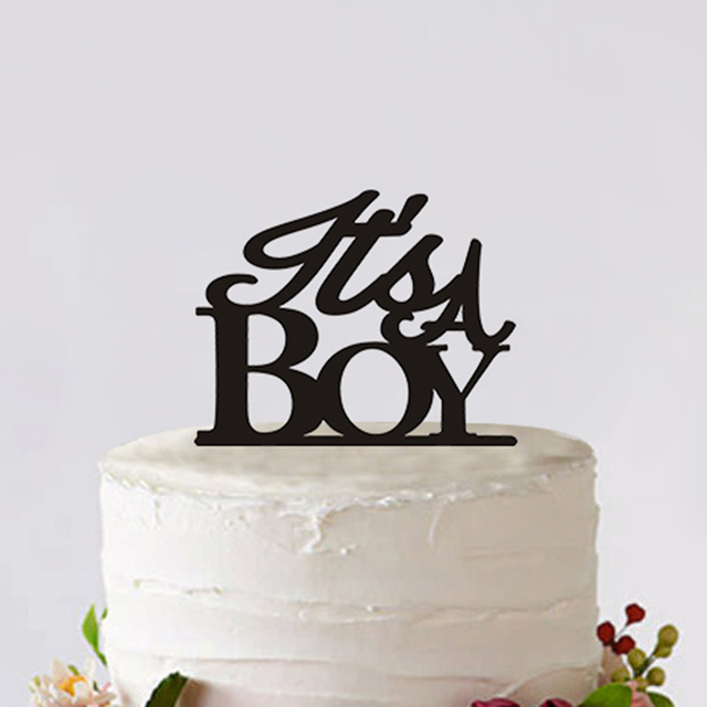 Custom Birthday Decoration Unique Birthday Cake Toppers Creative Boy