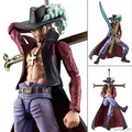 NEW hot 23 One piece Dracule Mihawk movable collectors action figure toys Christmas gift doll