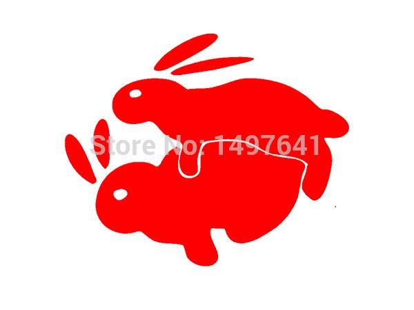 Rabbits Humping Sticker Car Window Truck Auto Bumper Door Laptop Etc Funny Sex Bomb JDM Vinyl Decal 8 Colors-in Car Stickers from Automobiles \u0026 Motorcycles ...  sc 1 st  AliExpress.com & Rabbits Humping Sticker Car Window Truck Auto Bumper Door Laptop Etc ...