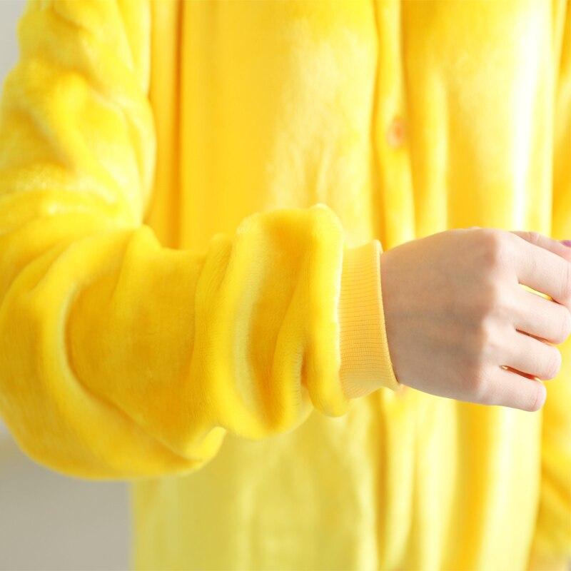 Image 4 - New Flannel pyjama baby girl pyjama set Pikachu Stitch cosplay Hooded christmas pijama infantil kids boys sleepwear 4 12 Year-in Pajama Sets from Mother & Kids