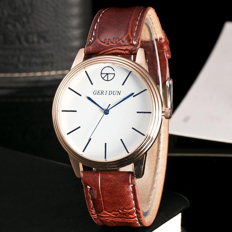 GERIDUN Fashion Herenhorloges Chronograaf & Uren Functie Heren - Herenhorloges - Foto 6