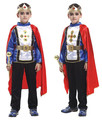 For Purim Boy Kids Christmas prince costumes rhinestone crown halloween coslpay clothing birthday theme party wear fairy tale