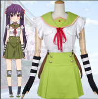 Anime school live! ebisuzawa kurumi School love japanese Uniform girls Cosplay Costume
