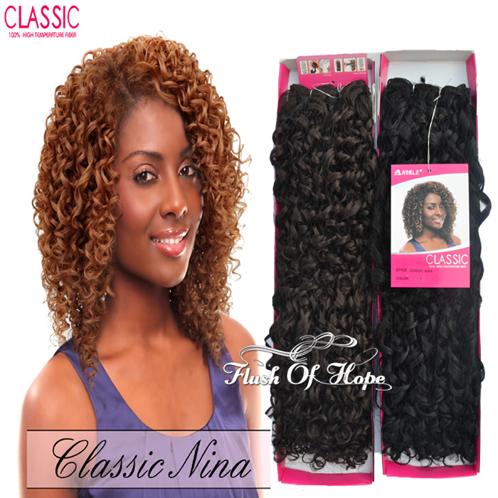 Heat resistant noble classic nina synthetic hair extension curly heat resistant noble classic nina synthetic hair extension curly hair weave high temperature fiber weft 14 2pcspc color f1b27 on aliexpress alibaba pmusecretfo Gallery