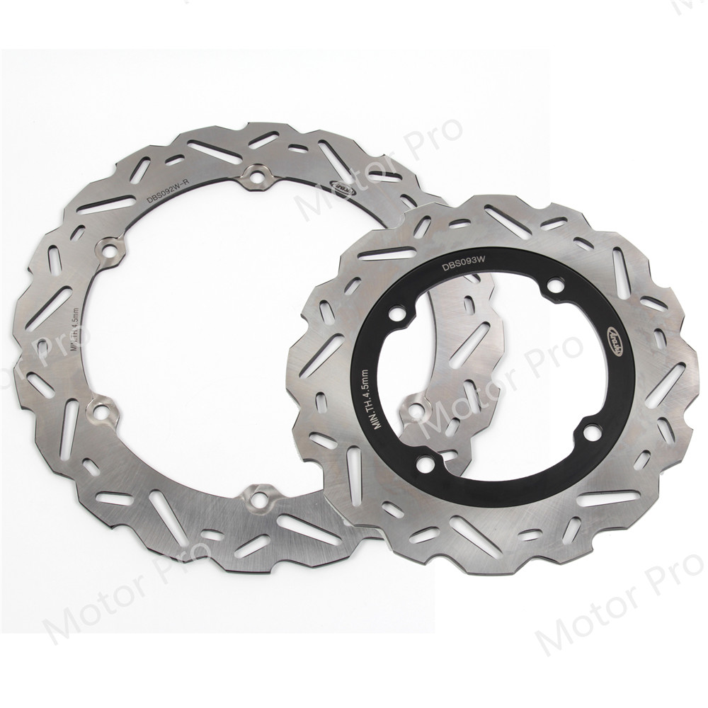 For Honda CB F 500 2013 2014 Front Rear Brake Disc Disk Rotor Kits Motorcycle Accessories CB500F CBF CB500 500F CB500X X CBR500R-in Brake Disks from Automobiles & Motorcycles    1