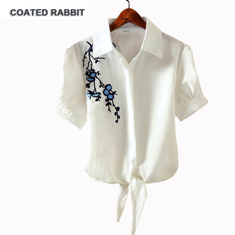 Basic Shirt Women Short Sleeve Womens Tops 2017 Summer Tee Shirts Korean Style Blouse Cotton New Plus Size Blause