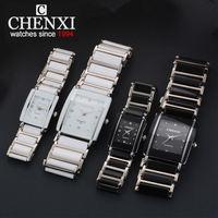 CHENXI NEW Fashion Women Watch Men Top Brand Luxury Wristwatch Man Female Quartz Wrist Watch Ceramic