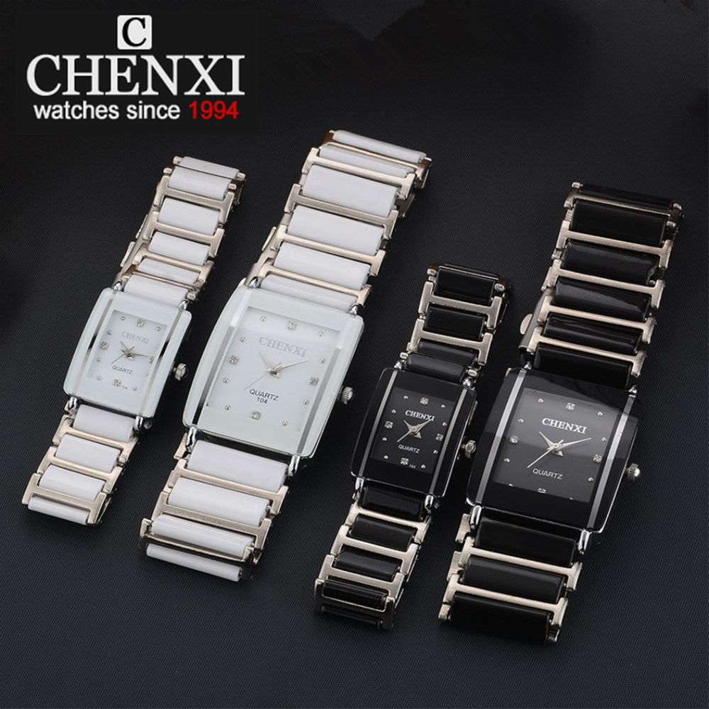 CHENXI NEW Fashion Women Watch Men Top Brand Luxury Wristwatch Man Female Quartz Wrist Watch Ceramic waterproof Watch PENGNATATE