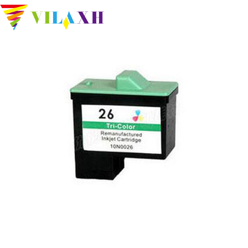 vilaxh For Lexmark 26 Ink Cartridges For Lexmark i3 Z13 Z23 Z25 Z33 Z35 Z513 Z515