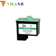 Vilaxh для lexmark 26 картриджи для lexmark i3 z13 z23 z25 Z33 Z35 Z515 Z513 Z603 Z605 Z611 Z615 Z617 Z645 X2250 X74