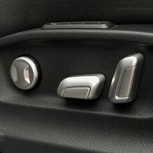 Для Skoda Superb автомобилей Стайлинг авто аксессуары 2016 2017 2018 ABS Chrome автокресло переключатель регулировки крышка отделка