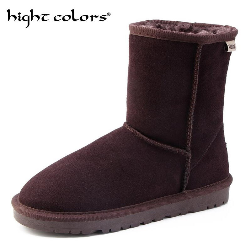Shoes Brand Winter Fur Supper Warm Snow Boots For Men Adult Male Shoes Non Slip Rubber Casual Work Safety Casual Ankle Boots Latest Technology Snow Boots