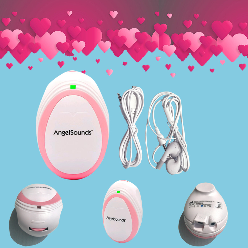 Fetal Doppler, Pocket Ultrasound Fetal Monitor, Prenatal Monitor, Angel Sound Series Factory Directly