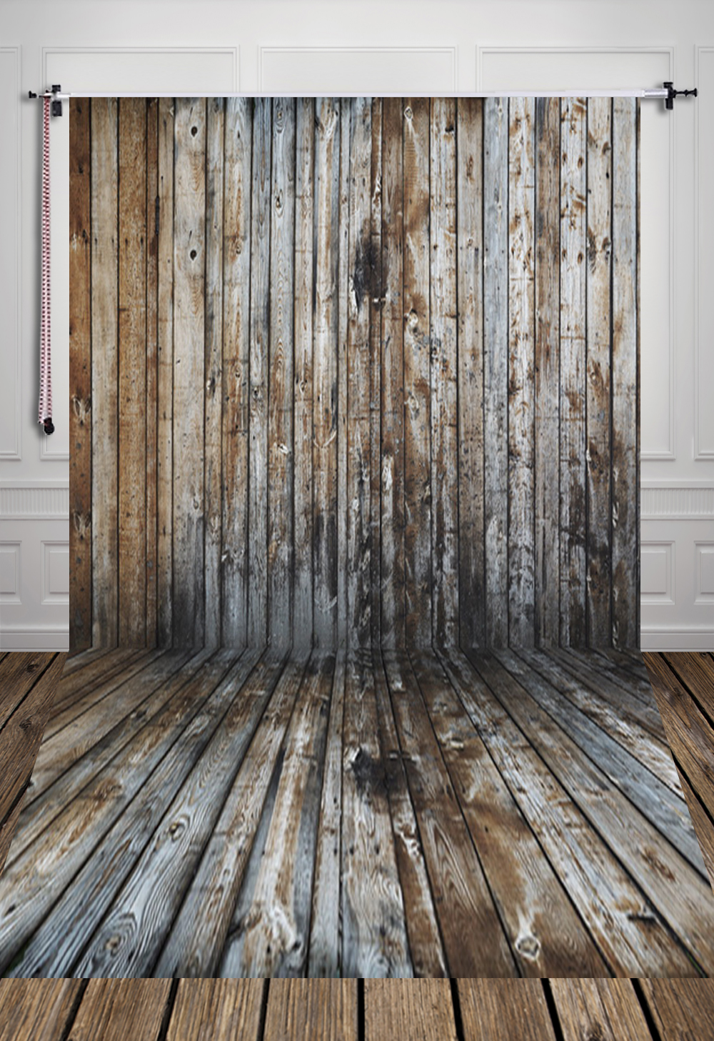 Weathered plank wood floor printed photography backdrop background for  adult or studio D 4135-in Background from Consumer Electronics on  Aliexpress.com ... - Weathered Plank Wood Floor Printed Photography Backdrop Background