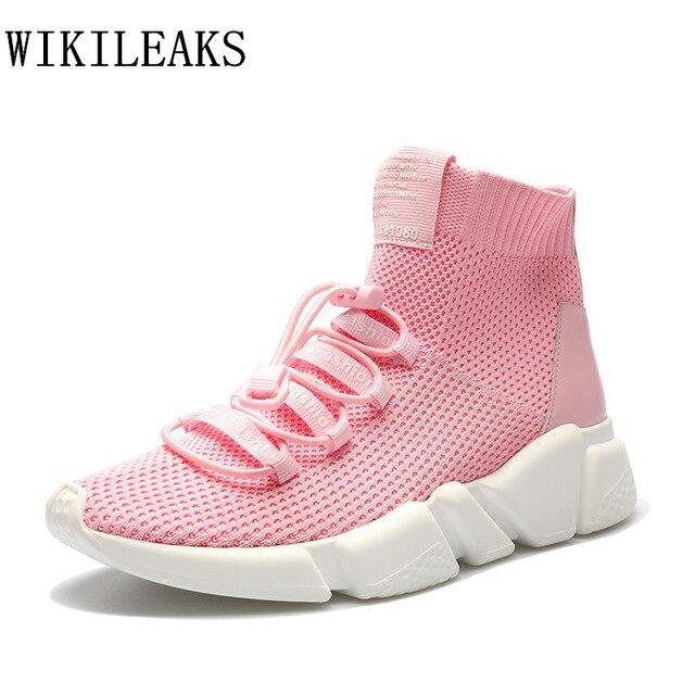 5374281c7b3 Mulheres sapatos de grife plataforma deslizamento em loafers sneakers  zapatillas mujer tenis feminino casual cesta femme