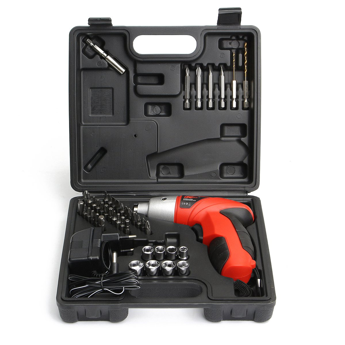 цена на 4.8V LED Screwdriver Battery Operated Cordless Power Electric Drill Driver Bits Electric Hand Drill Hole Eletric Power Tools