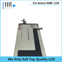 Original Compatible Replacement Lcd For Lenovo S580 LCD Screen Display With Touch Screen Digitizer Assembly Free