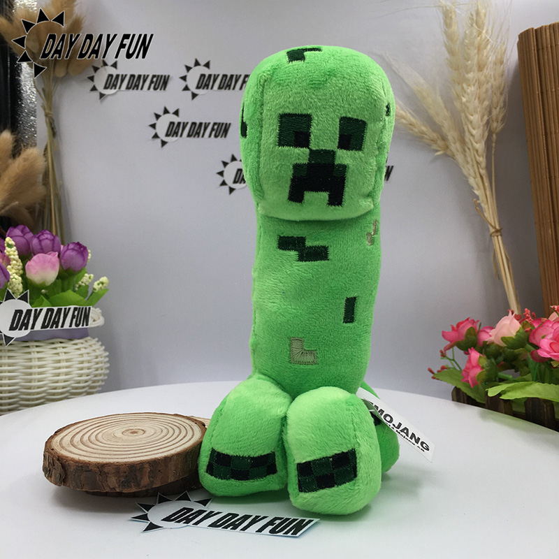 18cm Green Minecraft Creeper Plush Toys Good Quality Minecraft Plush Toy 18cm Cooly Cree ...