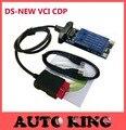 2017 Más Reciente 2015. R1/2014.2 ds software keygen Nuevo vci cdp + TCS ESCÁNER cdp pro plus con LED cables para coches/camiones obd2 herramienta