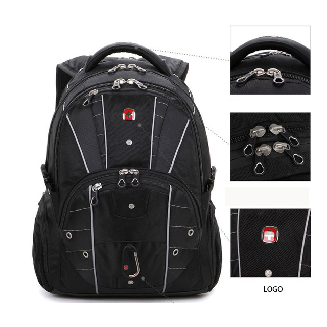 Brand New Multifunctional Backpack High volume 5 Layer Travel bag Schoolbag Backpack for laptop 12 4