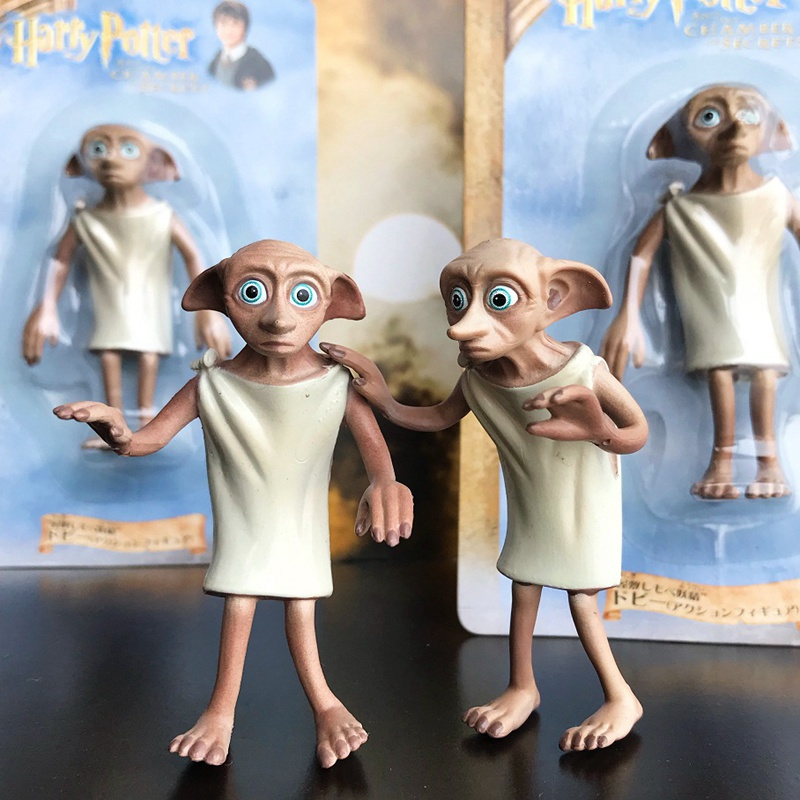 1pcs New In Box Original Garage Kit 8cm Figurine Harry Dobby Cable Doll Action Figure Collectible Model Toy