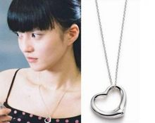 Korean Fashion Personality Retro Glossy Heart-shaped Necklace Women Gift Jewelry Manufacturers,wholesale Choker Necklace Collier(China)