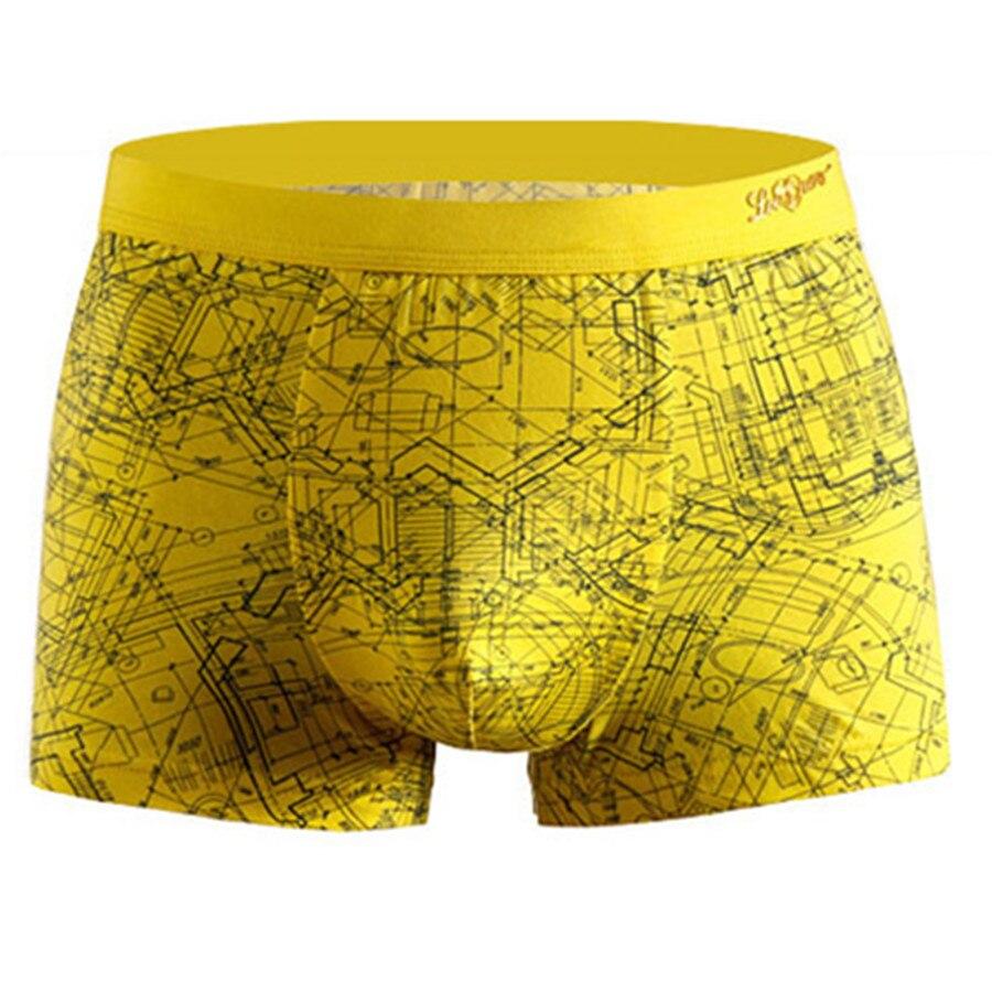 1PCS New Mens Sexy U-Convex Soft Cotton Underwear Boxers Shorts Panties Homme Trunks Pouch Boxershort