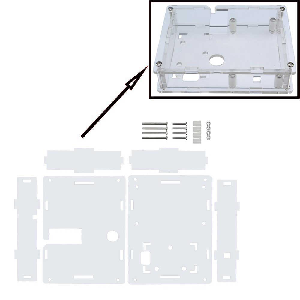 Lcr-t4 Mega328 Transistor Tester Dioda Triode Kapasitansi ESR Meter MOS PNP/NPN M328 dengan Kapasitor ESR Pengujian UNTUK ARDUINO DIY