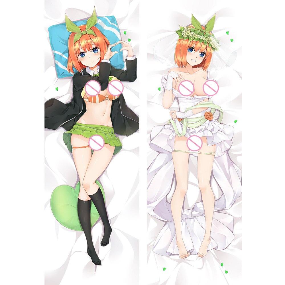 Anime Dakimakura The Quintessential Quintuplets Nakano Yotsuba Hug Pillow Cover