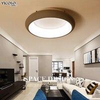 Современный простой потолочный светильник для Гостиная светодио дный цветок огни lamparas де techo Творческий акриловый для потолочных светильн