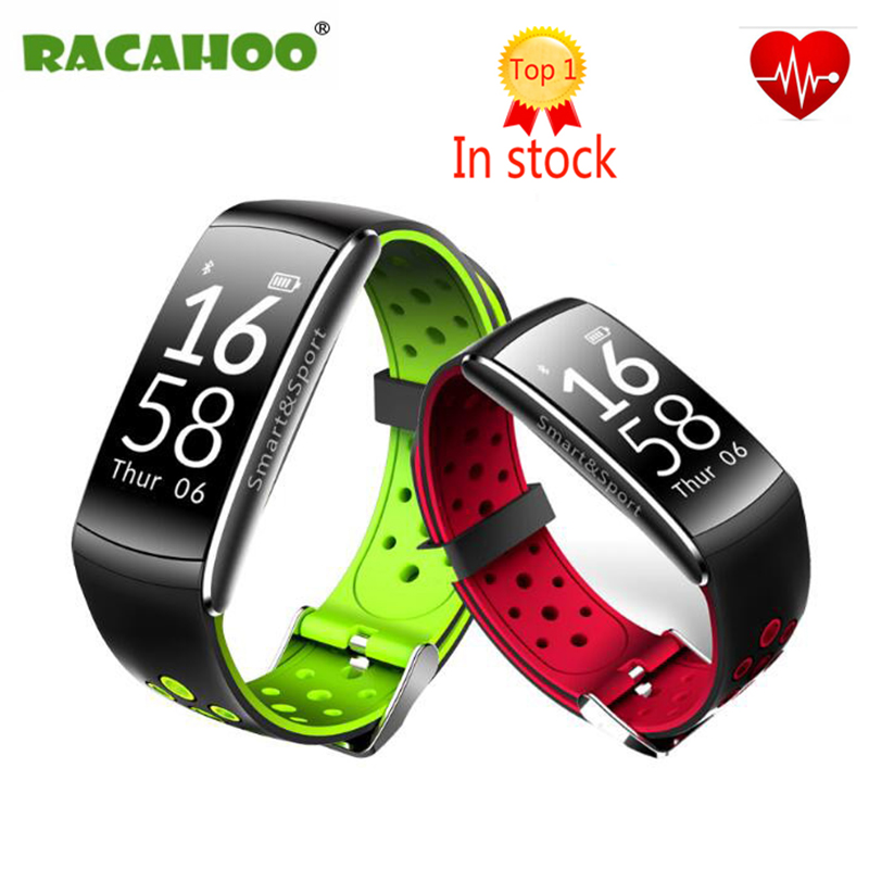 RACAHOO Smart band IP68 waterproof Smart Wristband Heart rate Smartband Fitness tracker Smart Bracelet for xiaomi huanwei iphone
