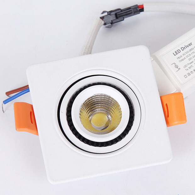 Free Shipping 15w 10w 7w Cob Led Downlight Ip65 Waterproof Bathroom Dimmable Ceiling