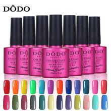 Soak Off UV Gel Nail Polish 12Pcs/Lot Professional Salon Gelpolish Base Top Coat Resin Varnish Manicure products DO