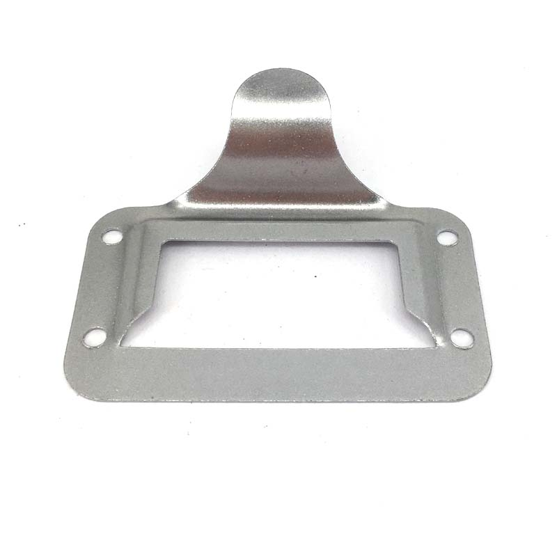 10PCS Sliver Color Business Card Tag Holder Label Frame Bureau Drawer Cabinet Pulls Handle 2.87(73mmx59mm) image