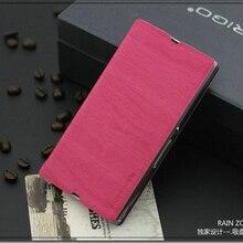 4 Цвет Высокое Качество Флип Кожаный чехол Для Sony Xperia Z L36h C6603 C6602 Оригинальные Подлинная Марка Телефон Дело Стентов крышка