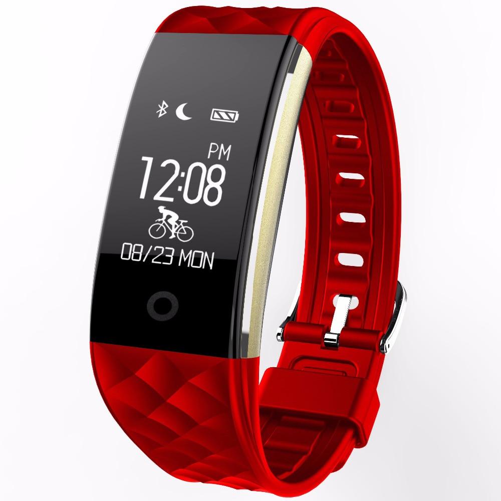 Sport Bracelet Smart Watch Men Women Clock Heart Rate Monitor bluetooth LED Digital Waterproof Smartwatch for IOS Android finow x3 plus k9 bluetooth smart watch android 5 1 mtk6580 quad core 1gb 8gb heart rate monitor clock for ios android pk no 1 d5