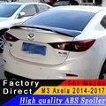 Для Mazda 3 M3 Axela 2014 до 2017 год спойлер высокого качества ABS Материал купе спойлер праймер или любой цвет для Mazda 3 Axela