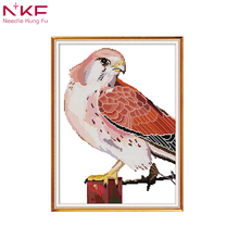 NKF New arrival Eagle simple Needlework DMC 11CT DIY Cross Stitch Sets For Embroidery kits Gift desk room decor
