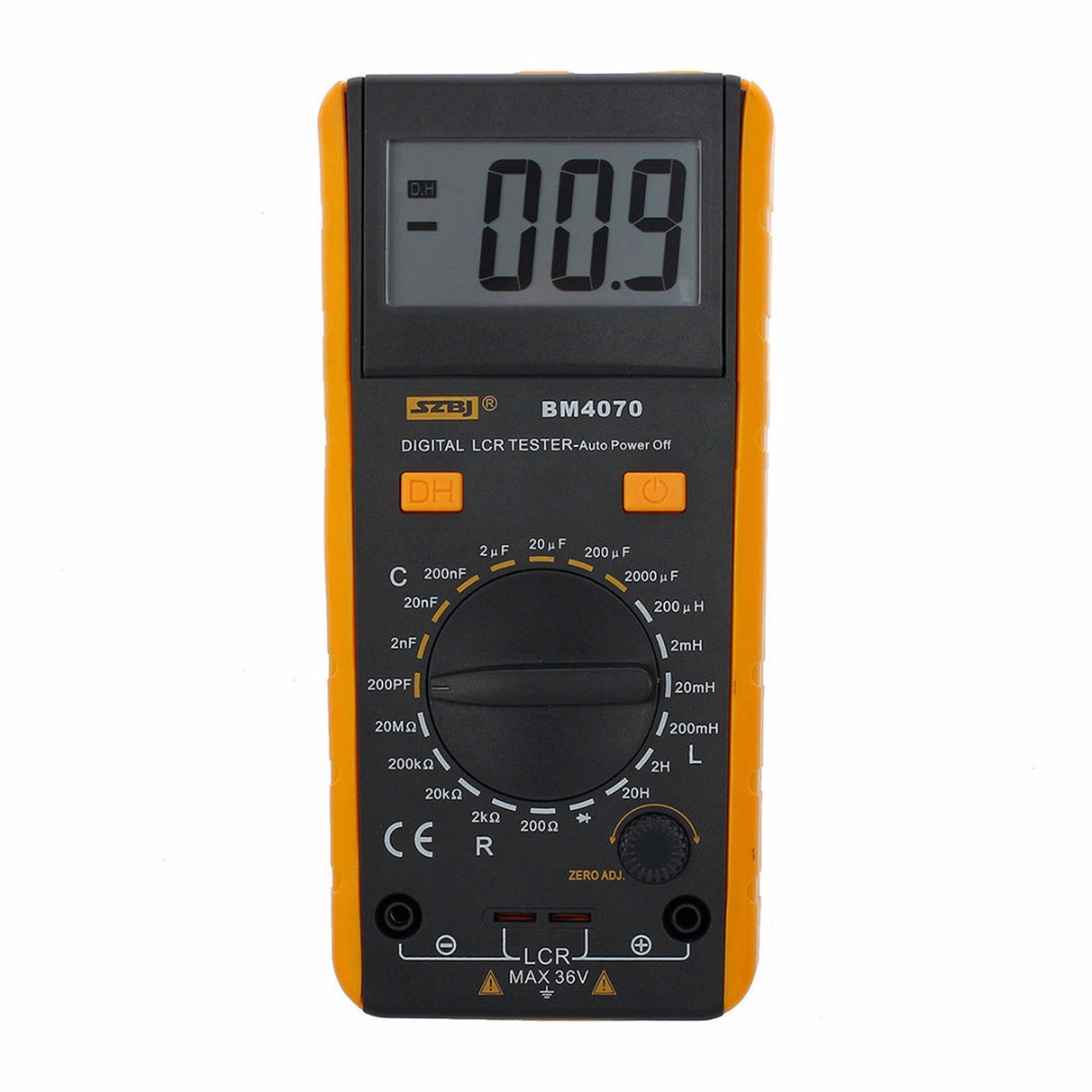 1pc Inductance Capacitance Resistance Tester BM4070 Digital Multimeter LCR Meter With Crocodile Clip Measuring Tools professional victor inductance capacitance lcr meter digital multimeter resistance meter vc6013