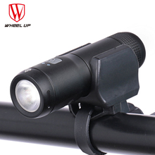 WHEEL UP Bicycle Front Light Mini Lamp Waterproof USB Rechargeable Bike Led Flashlight Torch Cycling headLight MTB 600 Lumens цены