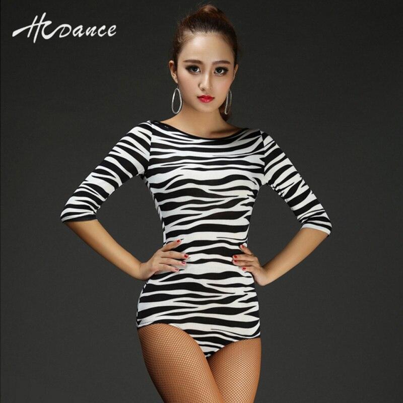 863117da76 ... Latin Women Leotard Bodysuit Tango Samba tops Salsa Ballroom Dance  Dresses Long Sleeve Spandex Full Body ...