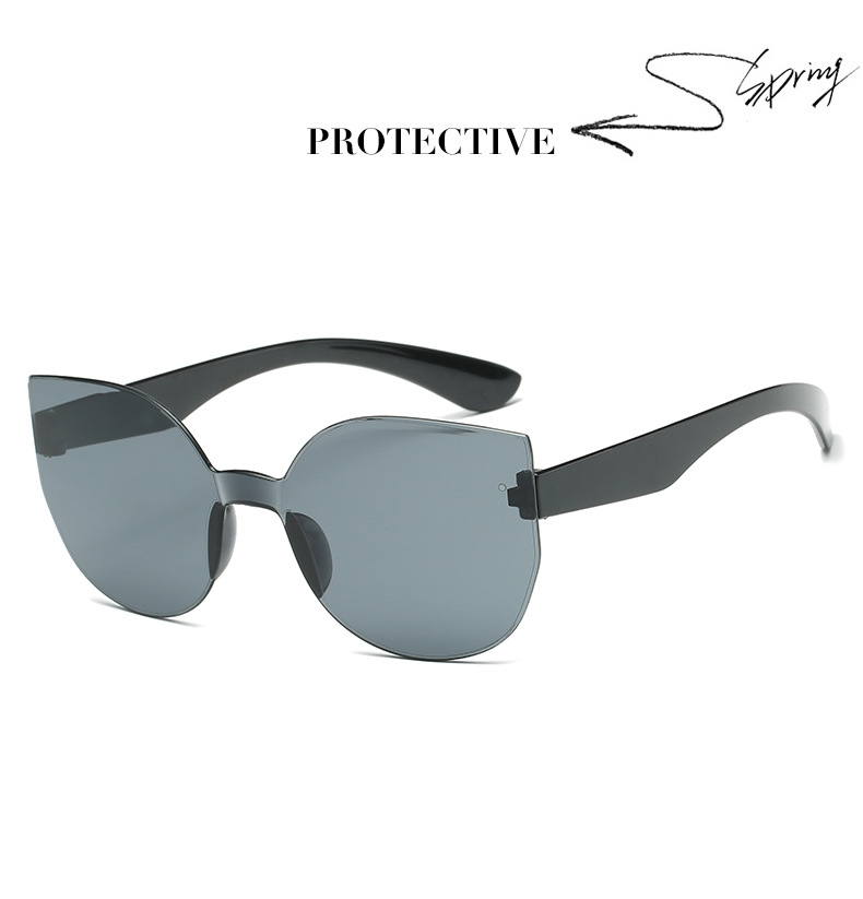 UCOOL 2018 Fashion Square Rimless Sunglasses Women Vintage Brand Designer Coating Sun Glasses UV400 (10)