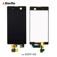 For Sony Xperia M5 Dual E5603 E5606 E5653 LCD Display Touch Screen Digitizer Full Assembly Replacement Parts Original 5.0 Inch