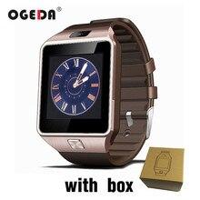 OGEDA DZ09 Men Smart Watch Male Smart Digital Sport Wrist Watch Support TF SIM Answer Call With Fitness Tracker Smartwatch Man