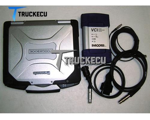 Pour kit de diagnostic PACCAR DAF DAVIE XDc II DAF VCI560 MUX DAF Davie modèle de développeur + Thoughbook CF30 ensemble complet d'ordinateur portable