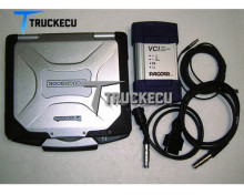 for DAF PACCAR diagnositc kit DAVIE XDc II VCI560 MUX Davie developer model +Thoughbook CF30 laptop full set