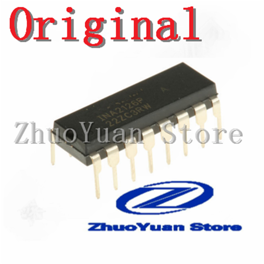 10pcs new original INA2126PA INA2126P INA2126 DIP 16 Voice Recognition/Control Modules     - title=
